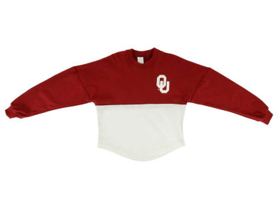 Oklahoma Sooners NCAA Toddler Two-Tone Sweeper Shirt