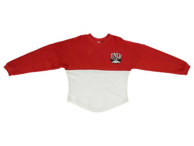 UNLV Runnin Rebels NCAA Toddler Two-Tone Sweeper Shirt