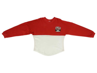 UNLV Runnin Rebels NCAA Youth Girls Two-Tone Sweeper Long Sleeve T-Shirt