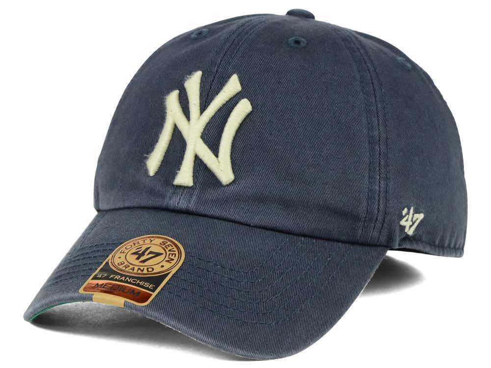 New York Yankees  47 MLB Vintage  47 FRANCHISE Cap  0aca025fc4a
