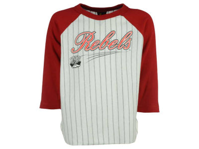 UNLV Runnin Rebels NCAA Youth 3/4 Sleeve Baseball Raglan T-Shirt