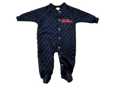 Ole Miss Rebels NCAA Newborn Cuddle Bubble Footed Creeper