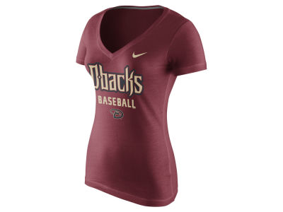Arizona Diamondbacks Nike MLB Women's V-Neck Practice T-Shirt