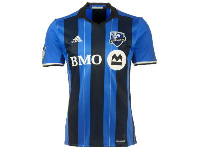 Montreal Impact Reebok MLS Men's Home Replica Short Sleeve Jersey