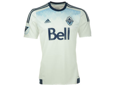 Vancouver Whitecaps FC Reebok MLS Men's Home Replica Short Sleeve Jersey