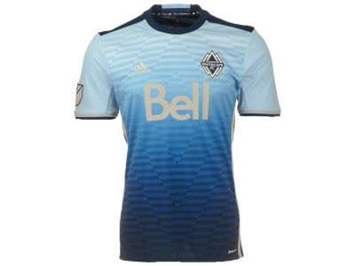 Vancouver Whitecaps FC Reebok MLS Men's Away Replica Short Sleeve Jersey
