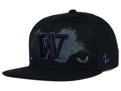 Washington Huskies Zephyr NCAA School Pride Snapback Hat