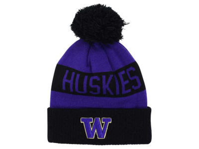 Washington Huskies Zephyr NCAA School Pride Pom Knit