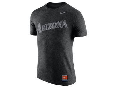 Arizona Diamondbacks Nike MLB Men's Cooperstown Tri-Blend Wordmark T-Shirt