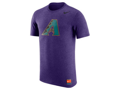 Arizona Diamondbacks Nike MLB Men's Coop Tri-Blend Logo T-Shirt