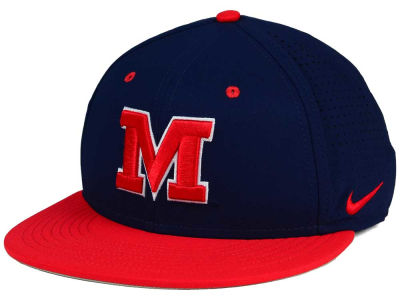 Ole Miss Rebels Nike NCAA True Vapor Fitted Cap