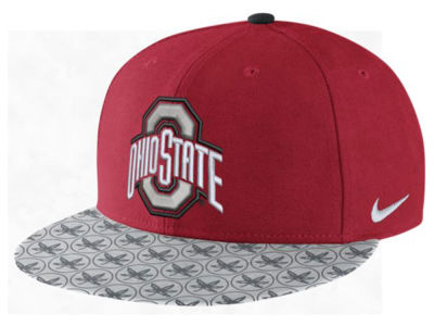 Ohio State Buckeyes Nike NCAA Week Zero Trainer 5 True Snapback Cap
