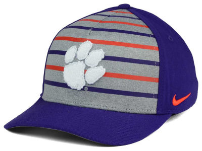 Clemson Tigers Nike NCAA Classic Verbiage Swoosh Cap