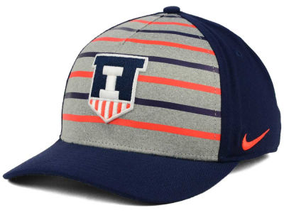 Illinois Fighting Illini Nike NCAA Classic Verbiage Swoosh Cap