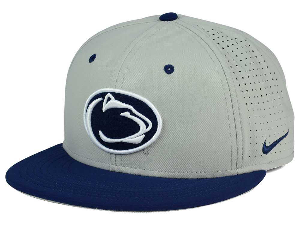 Penn State Nittany Lions Nike NCAA True Vapor Fitted Cap  d49195412e8d