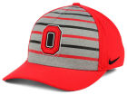 Ohio State Buckeyes Nike NCAA Classic Verbiage Swoosh Cap Stretch Fitted Hats