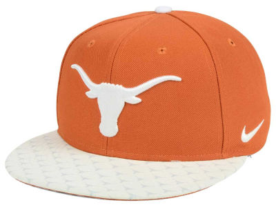Texas Longhorns Nike NCAA Week Zero Trainer 5 True Snapback Cap