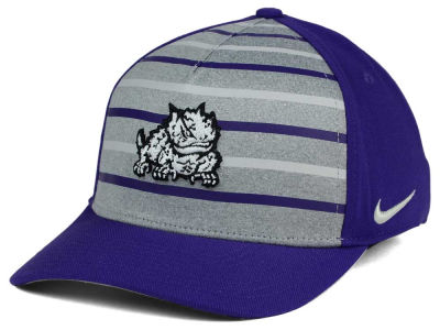 Texas Christian Horned Frogs Nike NCAA Classic Verbiage Swoosh Cap