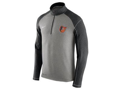Baltimore Orioles Nike MLB Men's Dri-Fit Touch Half Zip Pullover