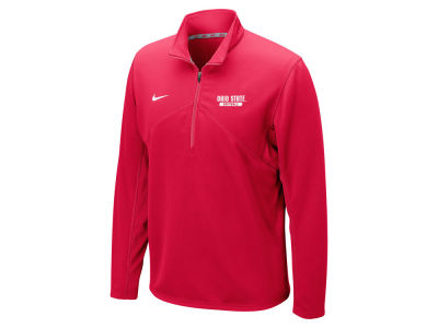 Ohio State Buckeyes NCAA Men's Softball Dri-Fit Training 1/4 Zip Pullover Shirt