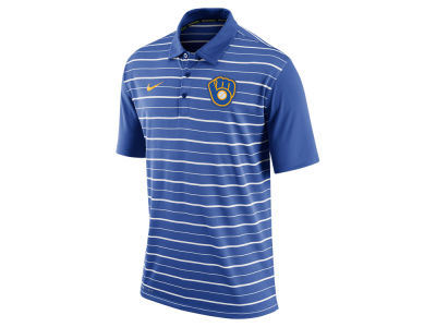Milwaukee Brewers Nike MLB Men's Dri-Fit Polo 1.6