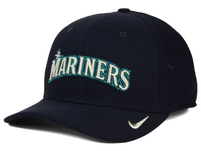Seattle Mariners Nike MLB Dri-Fit Vapor Classic Swoosh Flex Cap