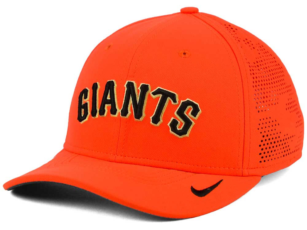 ea6f98404db87 ... discount code for san francisco giants nike mlb dri fit vapor classic  swoosh flex cap lids