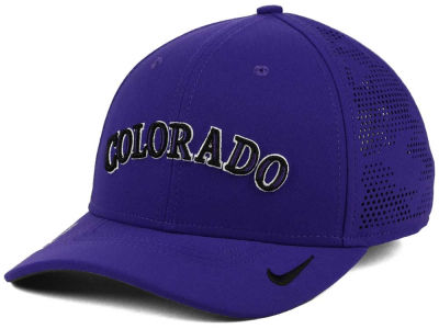 Colorado Rockies Nike MLB Dri-Fit Vapor Classic Swoosh Flex Cap