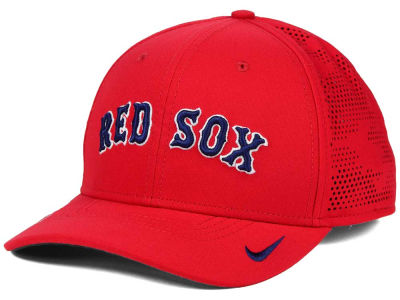 Boston Red Sox Nike MLB Dri-Fit Vapor Classic Swoosh Flex Cap
