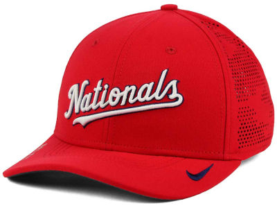 Washington Nationals Nike MLB Dri-Fit Vapor Classic Swoosh Flex Cap