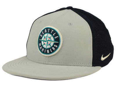 Seattle Mariners Nike MLB True Vapor Swoosh Flex Cap