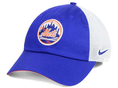 New York Mets Nike MLB Dri-Fit Mesh Swoosh Adjustable Cap
