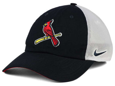 St. Louis Cardinals Nike MLB Dri-Fit Mesh Swoosh Adjustable Cap