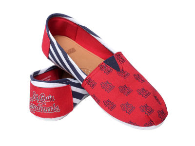 St. Louis Cardinals Canvas Stripe Shoe