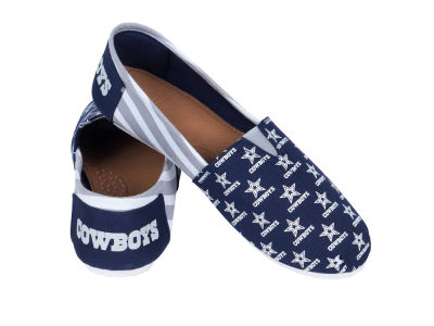 Dallas Cowboys Canvas Stripe Shoe