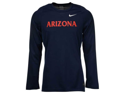 Arizona Wildcats Nike NCAA Men's Elite Basketball Long Sleeve Shooter T-Shirt