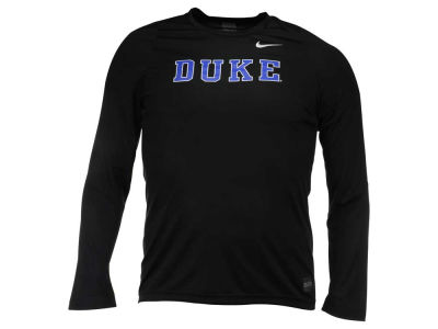 Duke Blue Devils Nike NCAA Men's Elite Basketball Long Sleeve Shooter T-Shirt