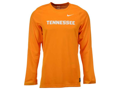 Tennessee Volunteers Nike NCAA Men's Elite Basketball Long Sleeve Shooter T-Shirt