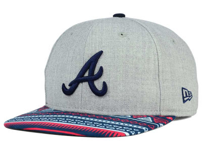 Atlanta Braves New Era MLB Neon Mashup 9FIFTY Snapback Cap