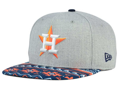 Houston Astros New Era MLB Neon Mashup 9FIFTY Snapback Cap