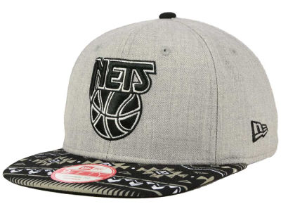 New Jersey Nets New Era NBA HWC Neon Mashup 9FIFTY Snapback Cap