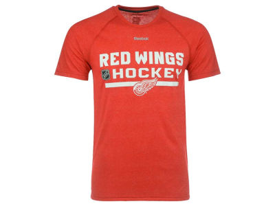 Detroit Red Wings Reebok NHL Men's CI Locker Room T-Shirt