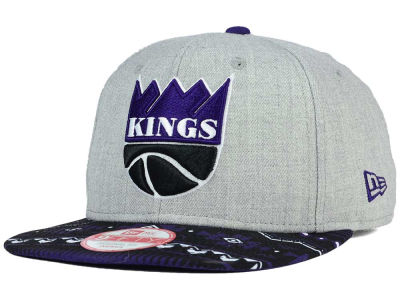 Sacramento Kings New Era NBA HWC Neon Mashup 9FIFTY Snapback Cap