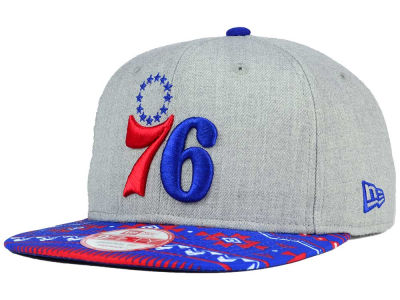 Philadelphia 76ers New Era NBA HWC Neon Mashup 9FIFTY Snapback Cap
