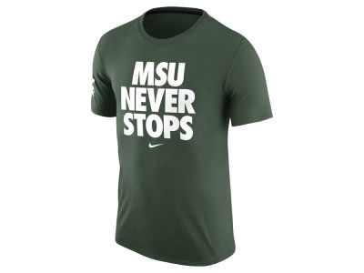 Michigan State Spartans Nike NCAA Men's Basketball Practice T-Shirt