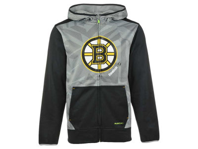 Boston Bruins Reebok NHL Men's CI TNT Full Zip Hoodie
