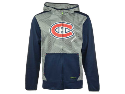 Montreal Canadiens Reebok NHL Men's CI TNT Full Zip Hoodie
