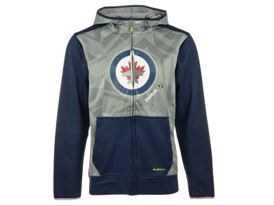Winnipeg Jets Reebok NHL Men's CI TNT Full Zip Hoodie