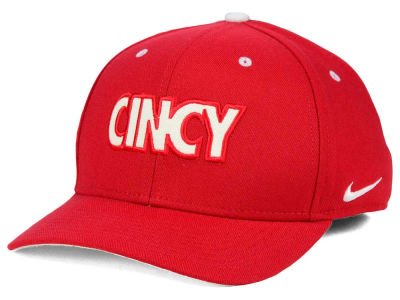 Cincinnati Reds Nike MLB Local Swooshflex Cap