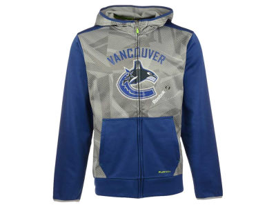 Vancouver Canucks Reebok NHL Men's CI TNT Full Zip Hoodie